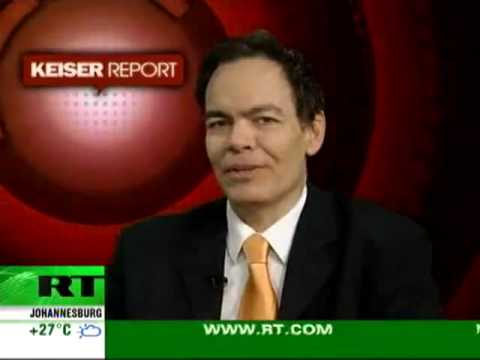 Max Keiser Report - U.S. Military Complex Used To Force Foriegn Bond Holders Not to Sell