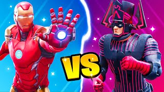 *NEW* IRON MAN vs Galactus! (Fortnite Battle)