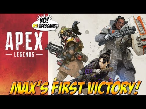 Apex Legends! Max's First Victory! - YoVideogames