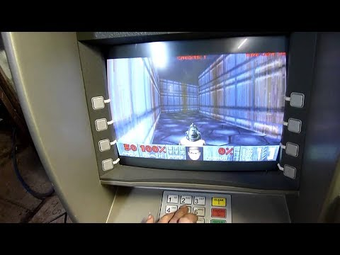 8 Times Video Games Were Played on Weird Devices