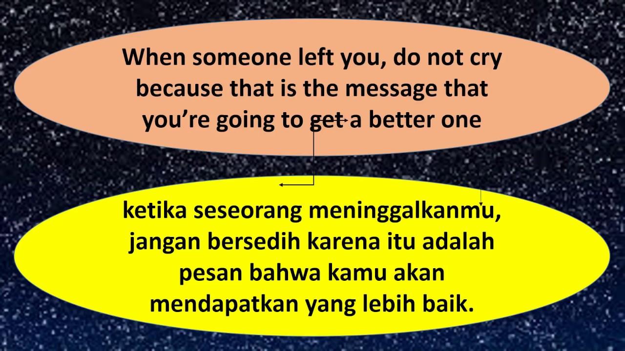 Kata Bijak Inggris Indonesia Wise Words In English And