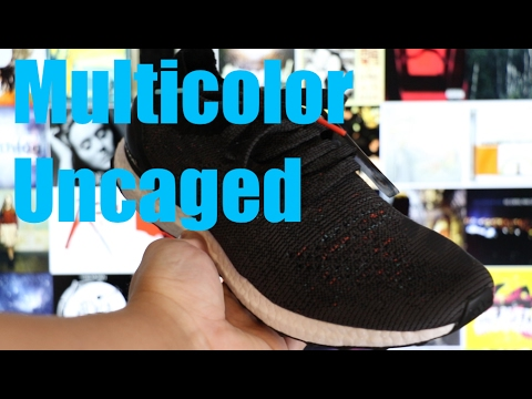 7ee34c80cdb5e Adidas Ultra Boost Uncaged Multicolor - YouTube