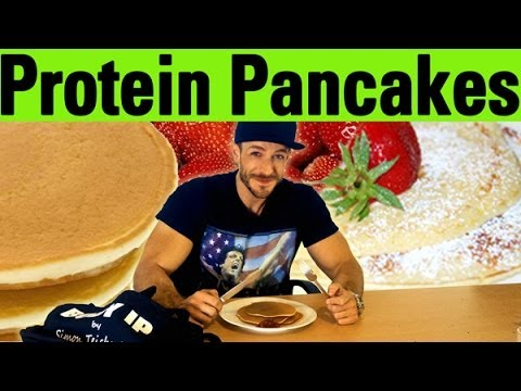 protein pancakes leckeres rezept f r den muskelaufbau youtube. Black Bedroom Furniture Sets. Home Design Ideas