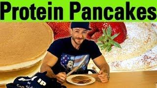 Protein Pancakes - leckeres Rezept für den Muskelaufbau