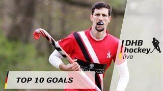 Top 10 Goals - 1. Hockey-Bundesliga - 14.-15.04.2018