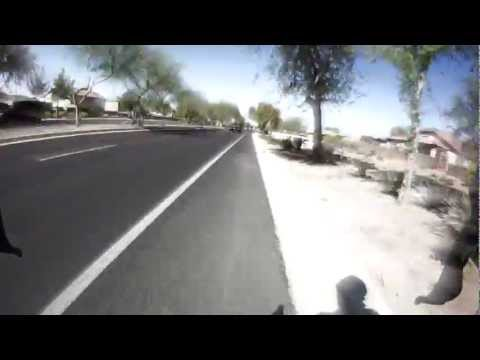 Cycling Gilbert and Queen Creek Arizona