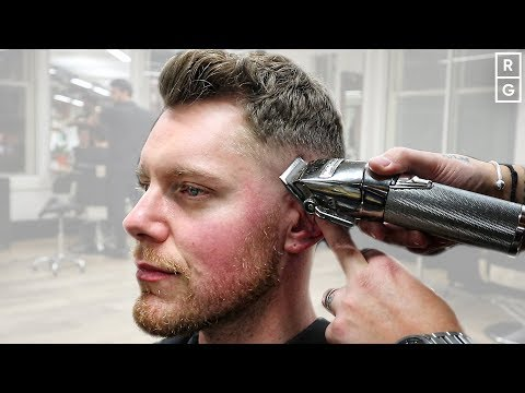 short-and-easy-haircut-for-men-|-low-skin-fade-tutorial