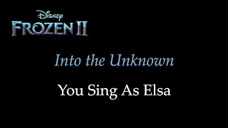Download lagu Frozen 2 - Into the Unknown - Karaoke with Siren Voice