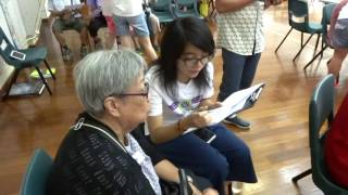 Student Volunteer Testimonials 學生義工分享 : Alex