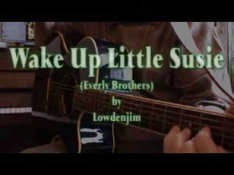 Wake Up Little Susie Everly Brothers Chords Lyrics Youtube