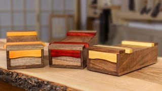 Japanese Mini Toolboxes | Keepsake, Pen & Pencil Boxes