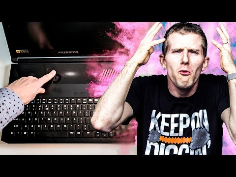 Bizarre Powerful Gaming Laptop - Acer Predator Triton 700