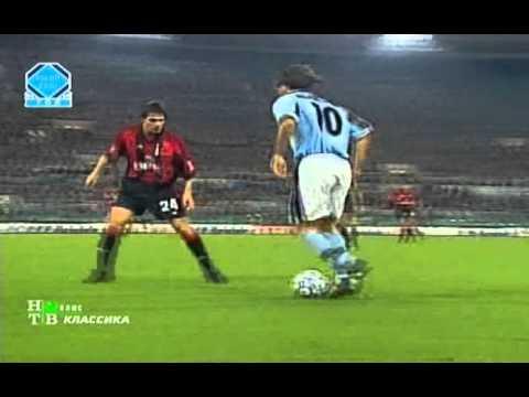 Roberto Mancini vs AC Milan 98/99 Home by AquilaLazio