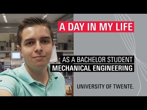 Student Vlog Of BSc Mechanical Engineering Student Jasper