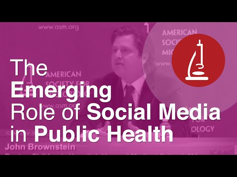 The Emerging Role of Social Media in Public Health - ICAAC 2012