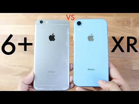 6469fc84ea2 iPHONE XR Vs iPHONE 6 PLUS! (Should You Upgrade?) (Speed Comparison)  (Review)