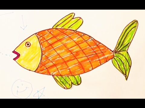 Fish Fish Draw Fish Youtube
