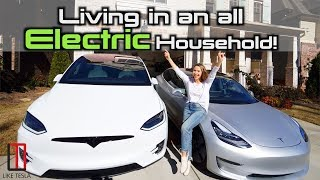 How Much Does It Cost Us To Drive TWO Teslas?