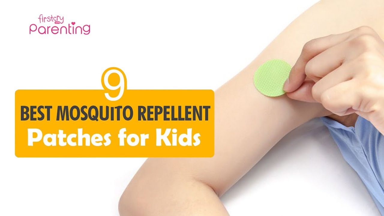9 Best Mosquito Repellent Patches for Kids