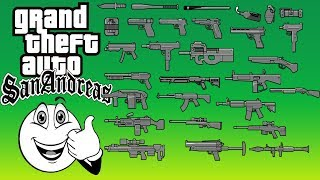 Como Instalar Armas Convertidas Do GTA V Para O GTA San Andreas