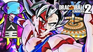 Dragon Ball Xenoverse 2 PC: Ultra Instinct Goku Vs Zen-Oh Gameplay (What-If Mod Battle)