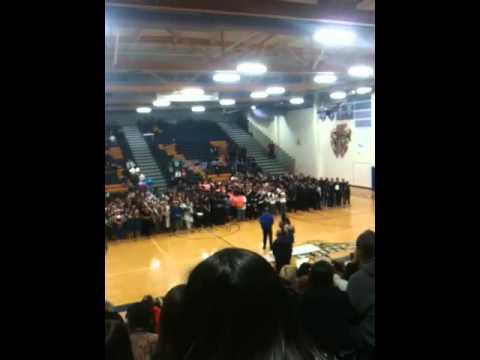 Awards Ceremony  Winter Drumline 2012 Competition Championships @ Sierra Vista High School