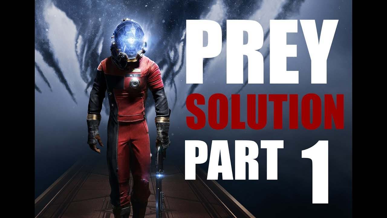 Prey soluce secret part département neuromod grand hall