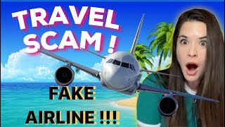 FAKE AIRLINE SCAMMER GETS TROLLED! 😂 | IRLrosie #scambaiting