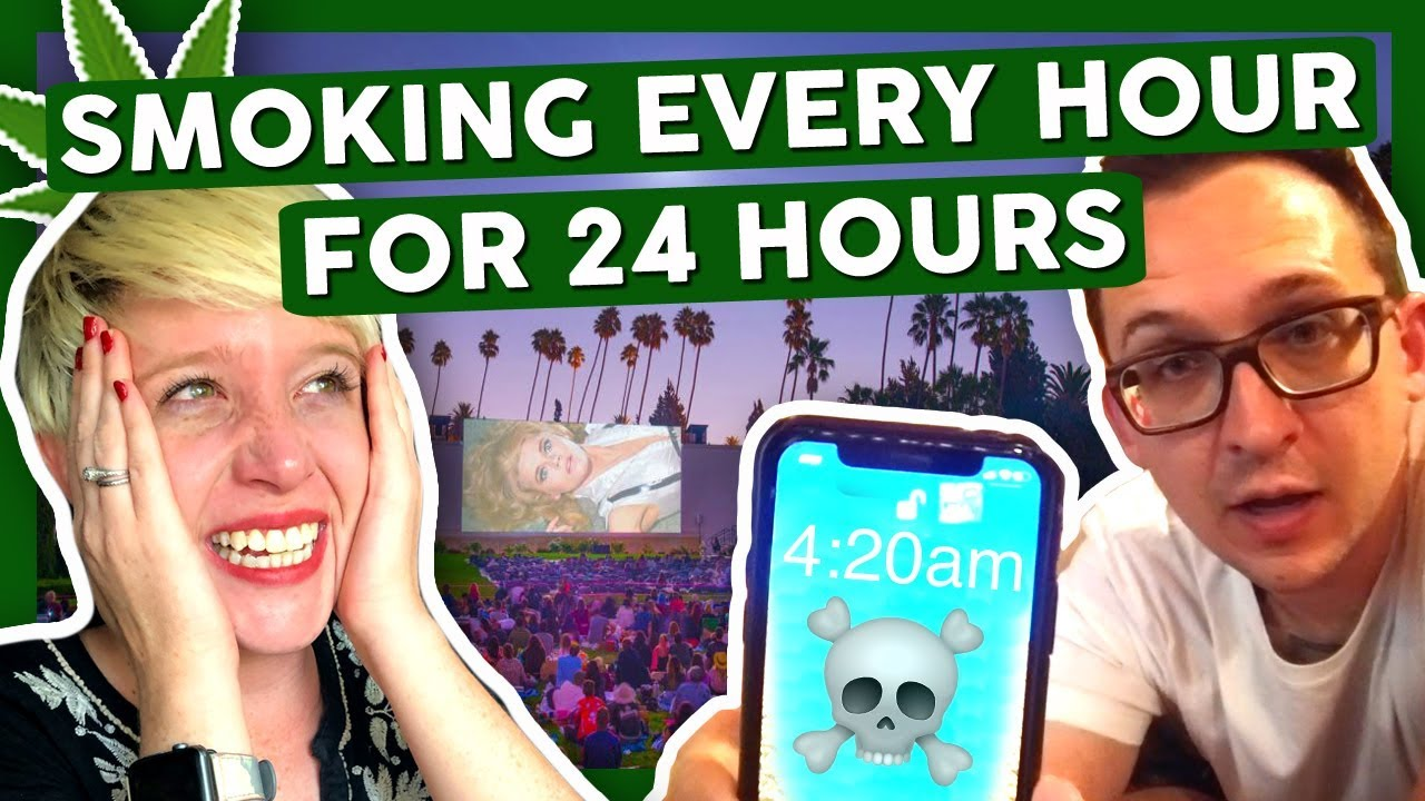 SMOKING EVERY HOUR FOR 24 HOURS