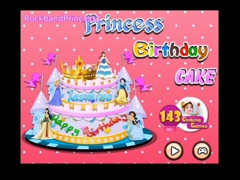 Princess Birthday Cake Games
