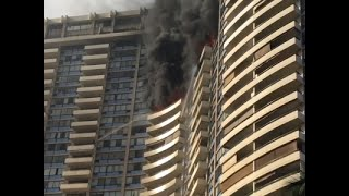 Resident: High-Rise Fire Like a 'Horror Movie'