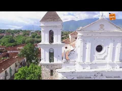 Hermosas tomas de Santa fe de Antioquia con un drone dji phantom 3 standard