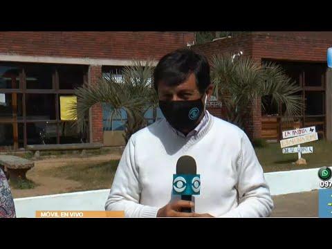 Caso de Covid-19 en un liceo de la Paloma
