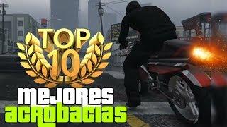 GTA V TOP 10 - Mejores acrobacias de la semana #117 | DEBUT de la moto voladora