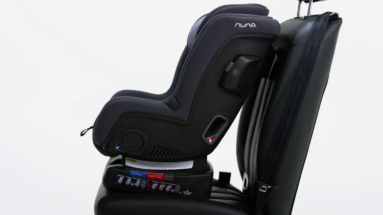 Nuna RAVA Convertible Car Seat Features Demo