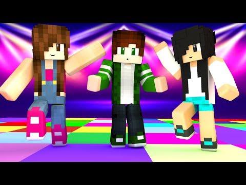 Minecraft - FILHA vs MÃE DANÇANDO thumbnail