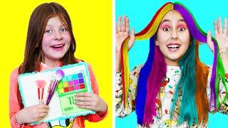 طرق مختلفة لإحضار مستحضرات التجميل إلى الصف    أفكار المدرسة لمكياج جميل مع الأصدقاء إلى الأبد
