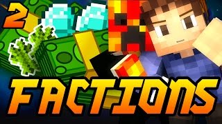 "Minecraft Factions ""MONEY MAKING BASE!"" Episode 2 w/ Woofless and Preston"