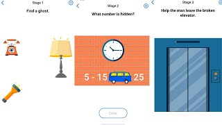 Easy Game Brain Test Daily Challenge 26 July 2020 Stage 1,2,3 Solution