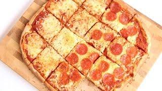 Homemade Sicilian Pizza Recipe - Laura Vitale - Laura In The Kitchen Episode 766
