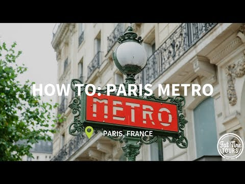 How to Take the Paris Metro