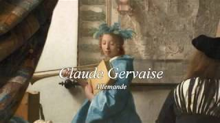 Floris Onstwedder plays Allemande, Claude Gervaise