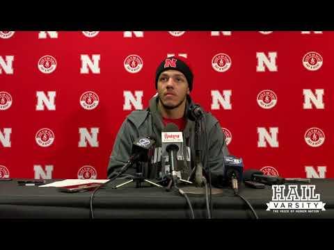 Nebraska Football: Adrian Martinez Talks Huskers' 54-7 Win Over Maryland