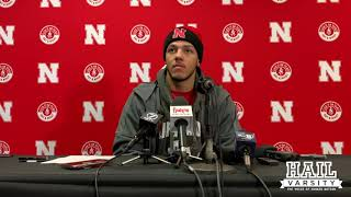 Nebraska Football: Adrian Martinez Talks Huskers 54-7 Win Over Maryland