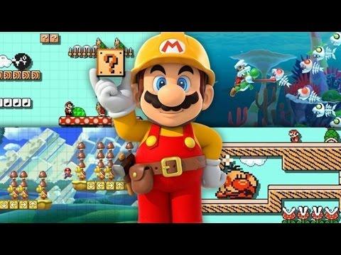Super Mario Maker for Nintendo 3DS Announcement Trailer