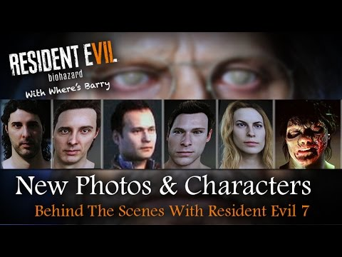 Resident Evil 7 New Character Photos Revealed Cedec Conference