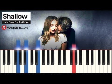 💎 Shallow - Lady Gaga Bradley Cooper  Piano Tutorial 💎