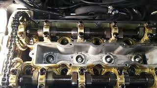 Мотор B235r после масла нафтан премьер 5w40. Видео сверху
