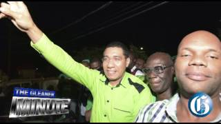 THE GLEANER MINUTE: JLP wins...Portia was a no-show...Brazilian football team dies in plane crash