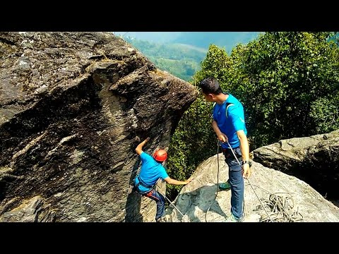 HMI Basic Mountaineering Course - Part 3 - Learning Climbing and Rappelling